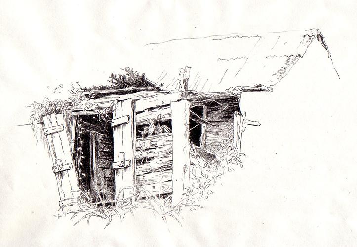 case abandonnée 0
