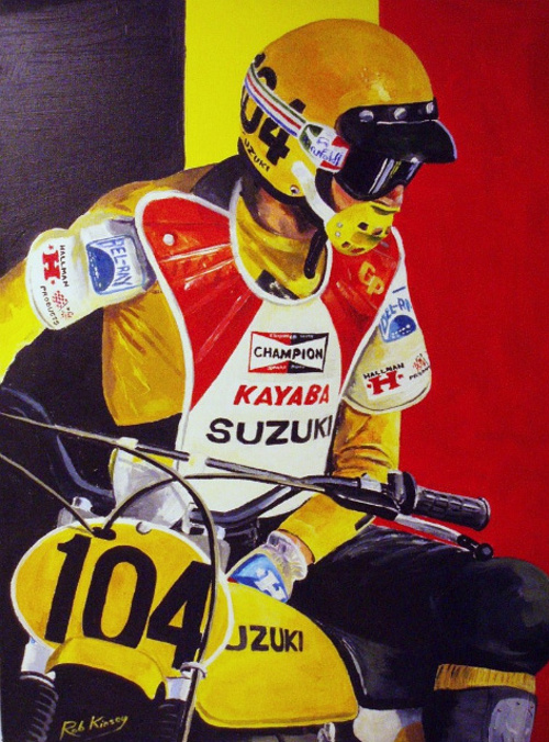 Roger DeCoster World Motocross Champion 0