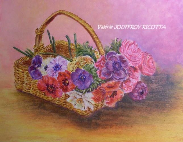 Le panier de fleurs 0