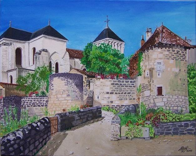Abbaye Nouaillé Maupertuis 0