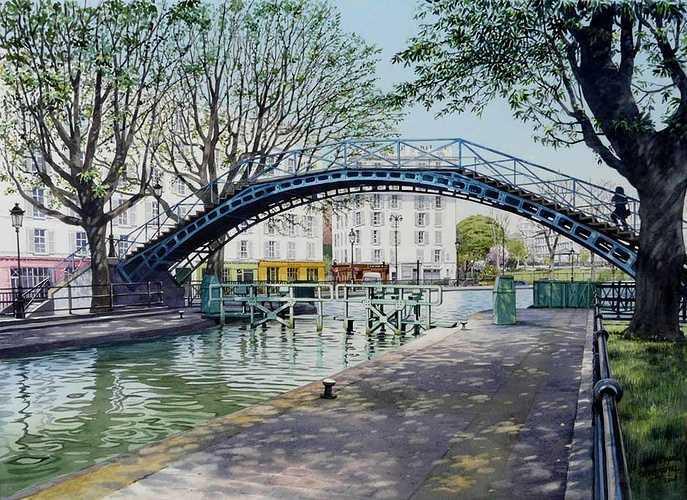 Le canal Saint Martin 0
