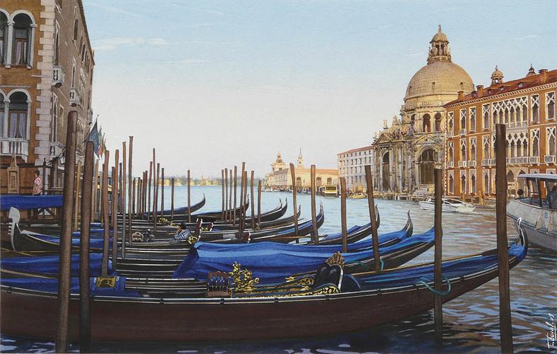 Le Grand Canal et la Basilique Santa Maria 0