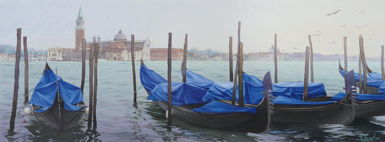 Gondoles à Venise 0