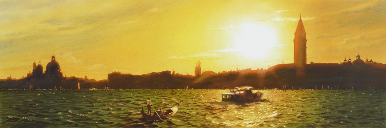 Crépuscule sur l'île de Murano 0