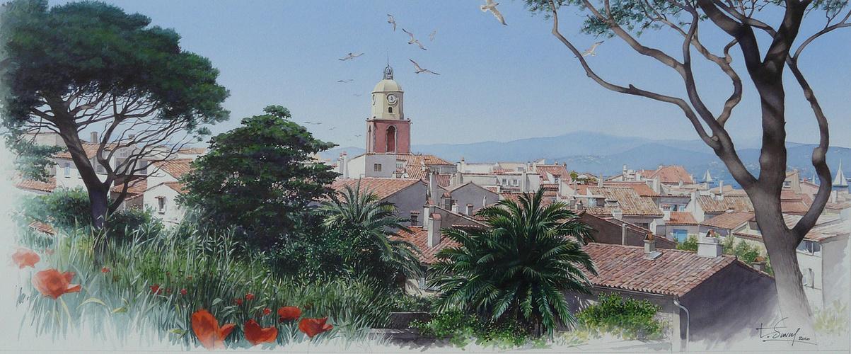 Le village de St Tropez 0