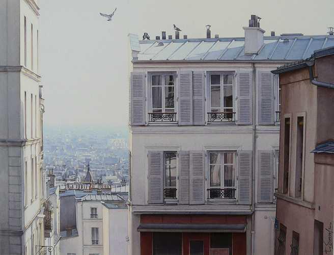 Les toits de Montmartre 0