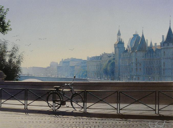 La bicyclette et le Pont-Neuf 0
