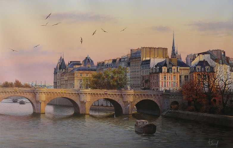 Crépuscule sur Paris 0