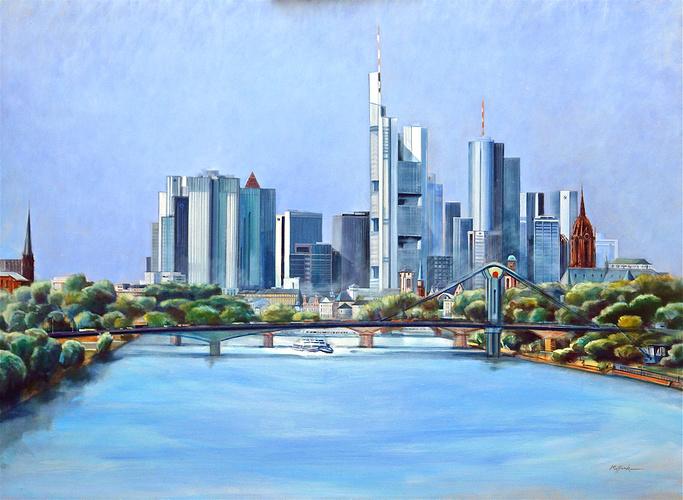 """""""Frankfurt-Main - Bankfurt """" 2008 HST. Format 60 F 0"""