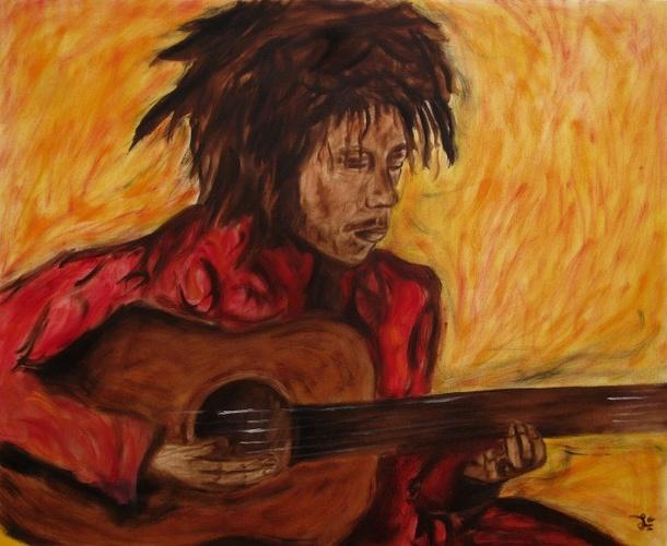 Portrait de Bob Marley 0