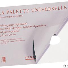 palettes papier pour huile