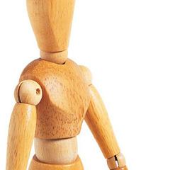 mannequins articules en bois