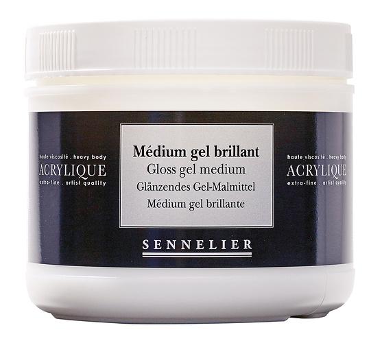Medium gel brillant 0