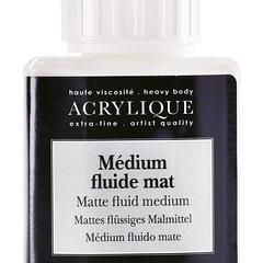 medium fluide mat