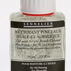 nettoyant pinceaux huile et acrylique