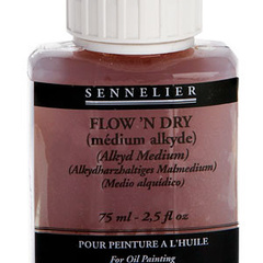 flow n dry (medium alkyde)