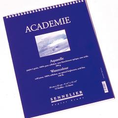 albums aquarelle academie