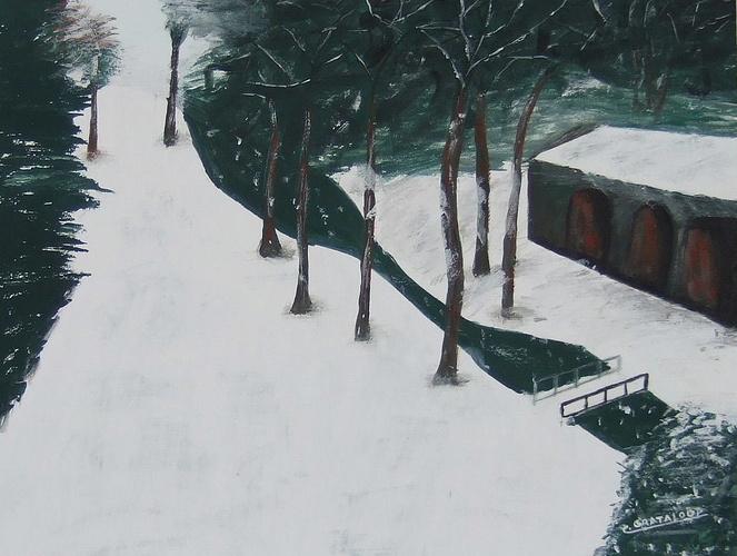 Charbonnières l'hiver. 0