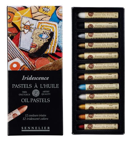 Pastels à l''huile - Boîtes carton n132520-121