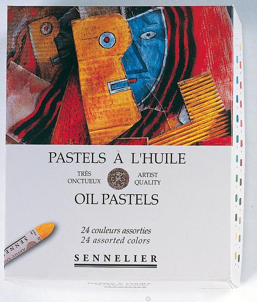 Pastels à l''huile - Boîtes carton n132520-240carton24universels