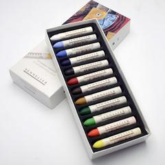 pastels a l huile - boites carton