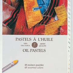 feuilles et albums oil pastel pad