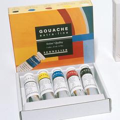 set d initiation gouache