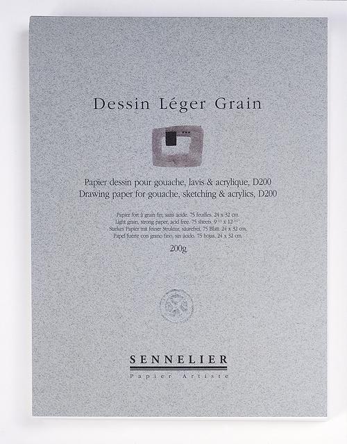 Blocs Dessin léger grain (D200) 0