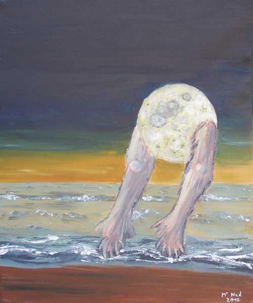 La lune amarrée 0