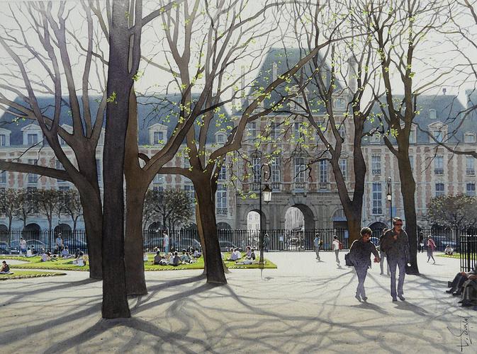 La Place des Vosges 0