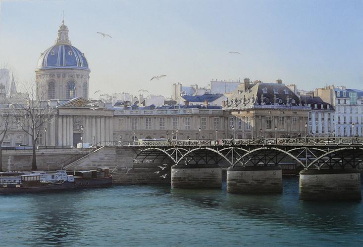 L''Académie française et la Passerelle des Arts 0