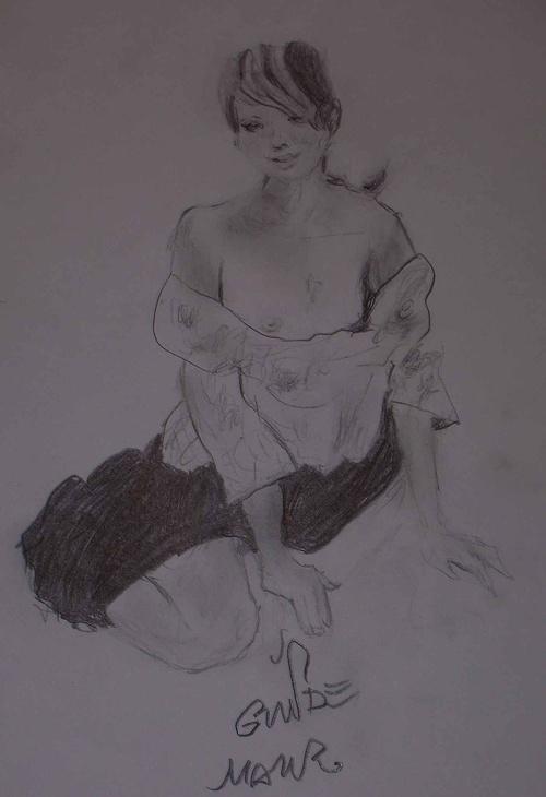 A moça da saia (La jeune femme de la jupe) 0