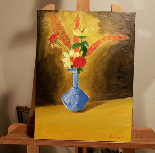 Vaso di fiori 0