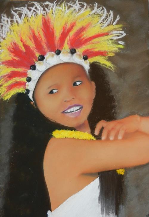danseuse tahitienne 0