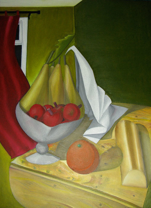 Des poires et une orange 0