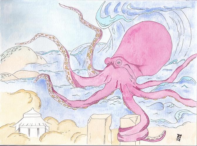 l''attaque de la pieuvre 0