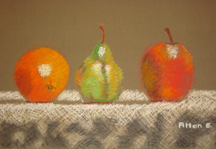 Pomme poire et...Orange 0