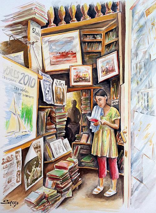 Chez le libraire 0