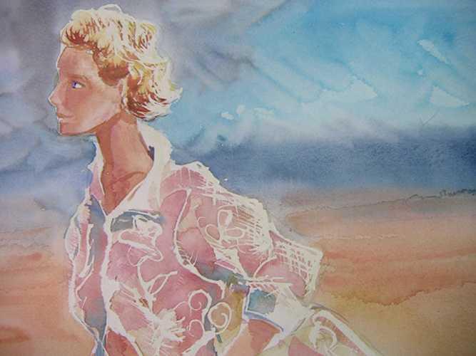 portrait aquarelle 0
