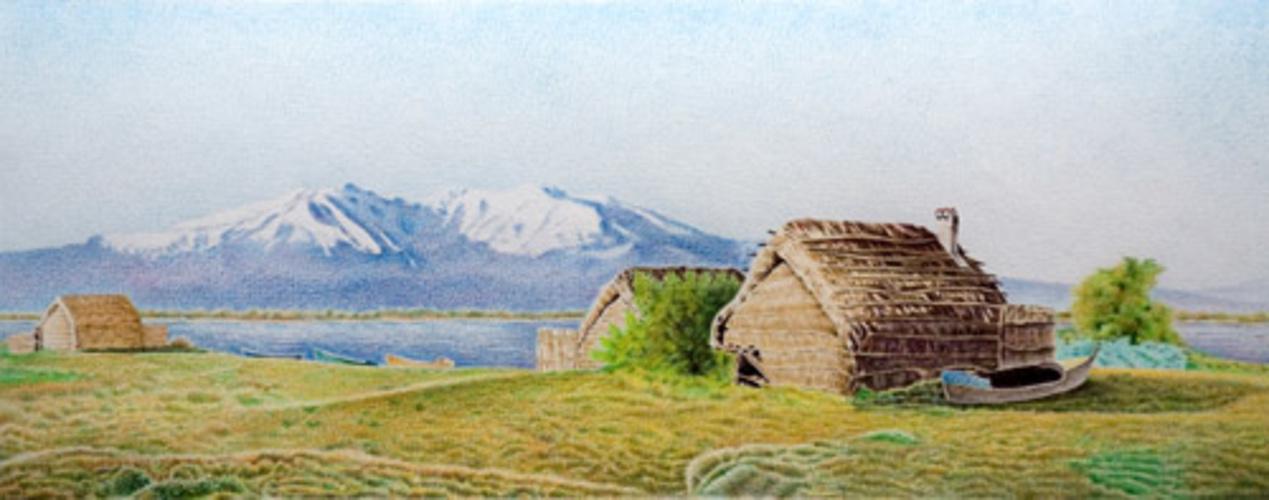 Maisons de pêcheurs sur l'étang de Canet-Saint Nazaire 0