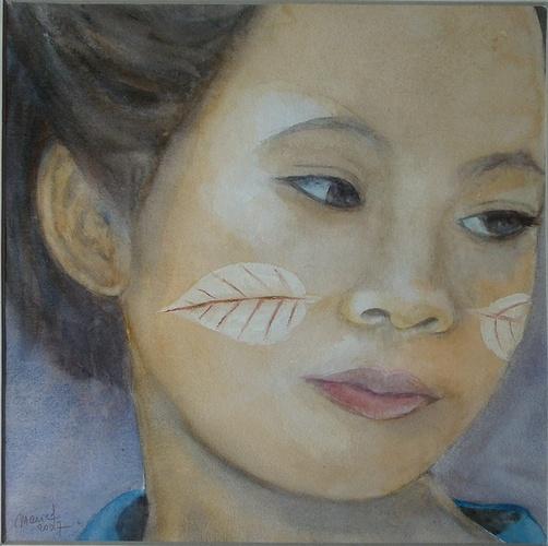 jeune fille birmane 0