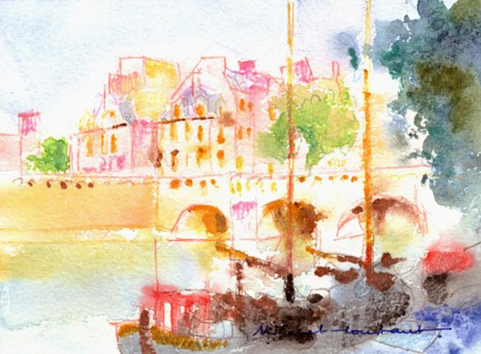 Michel CONSTANT - Paris - Le Pont Neuf 0