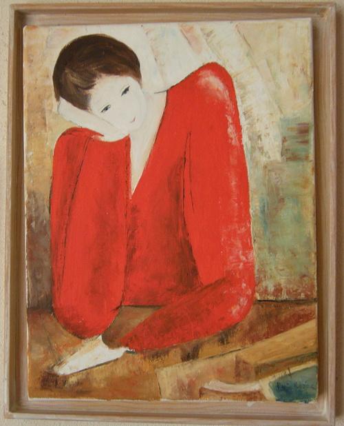 la robe rouge (d'après Redor ) 0