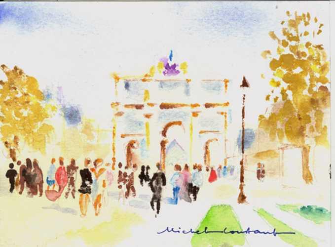 Michel CONSTANT - Paris - Arc de triomphe du Carroussel 0