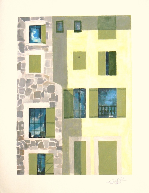 vieux murs de la ville du Puy 0