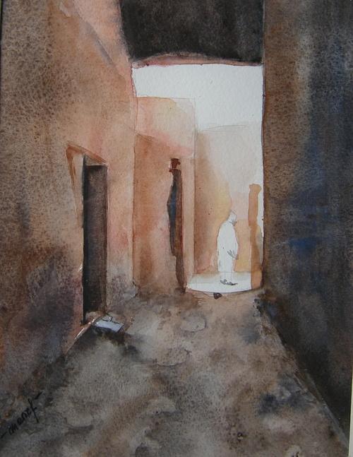 ruelle dans le sud marocain 0