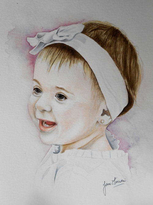 watercolor portraits watercolorportrait
