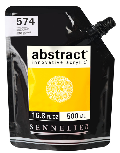 Abstract 500 ml 574-abstract-jauneprimaire-500ml