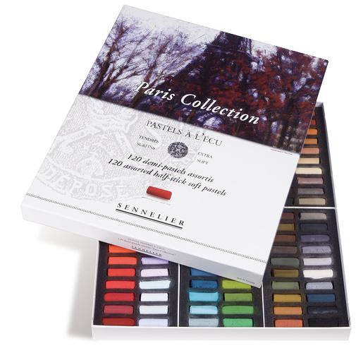 Etuis et boîtes carton de demi-pastels n132238-00-pastecu120