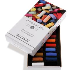 etuis et boites carton de demi-pastels